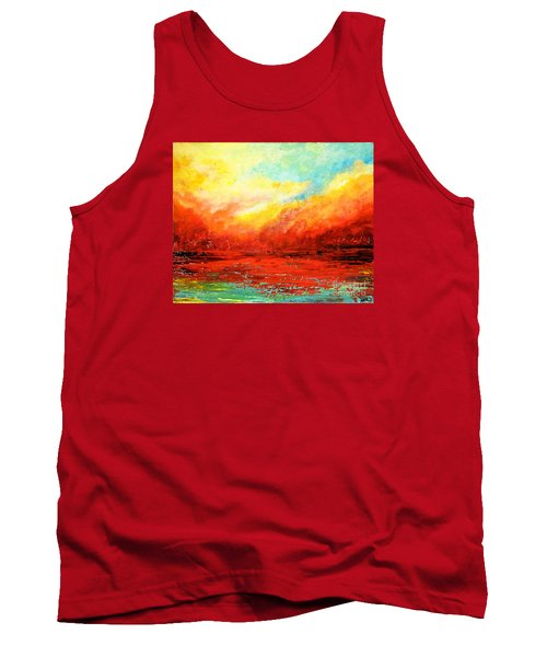 Crimson No.2 Tank Top