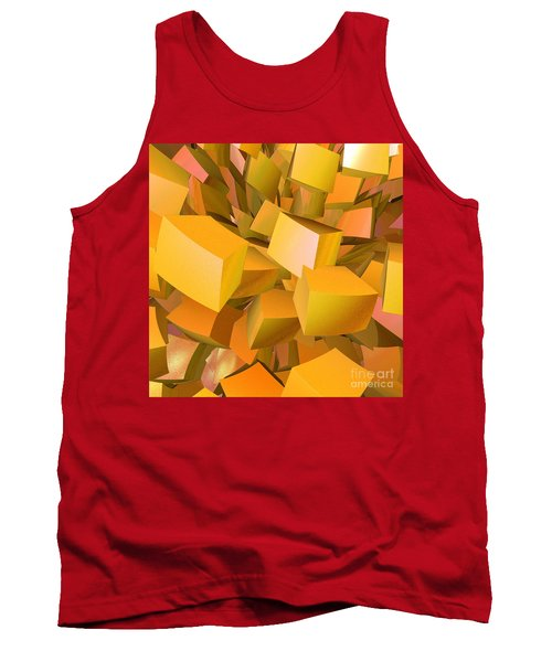 Cubist Melon Burst By Jammer Tank Top by First Star Art