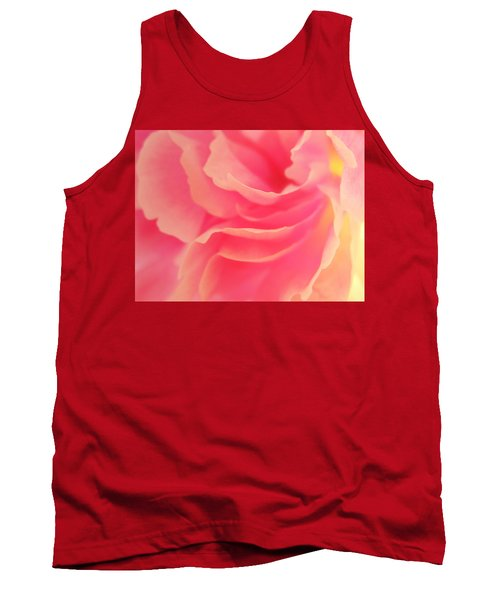 Curling Blossom Tank Top