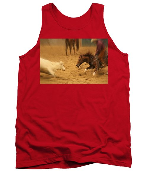 Cutting Horse 8 Tank Top