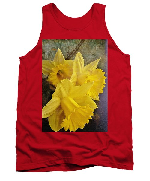 Tank Top featuring the photograph Daffodil Burst by Diane Alexander