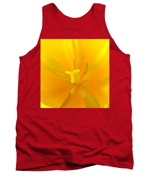 Daffodil Center Tank Top
