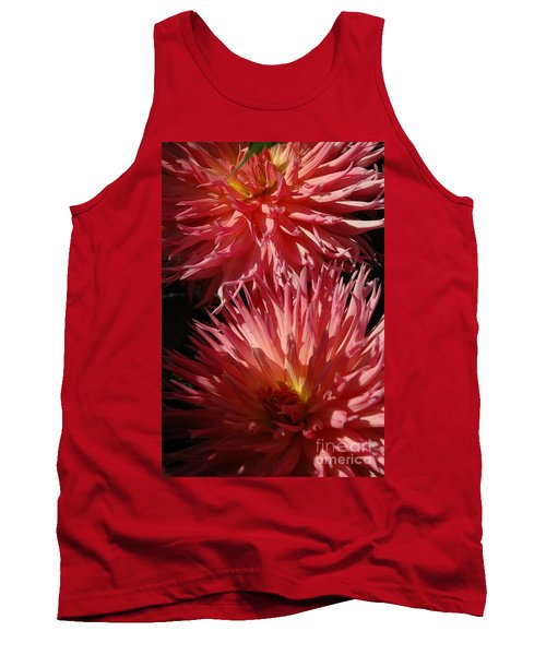 Tank Top featuring the photograph Dahlia Vi by Christiane Hellner-OBrien