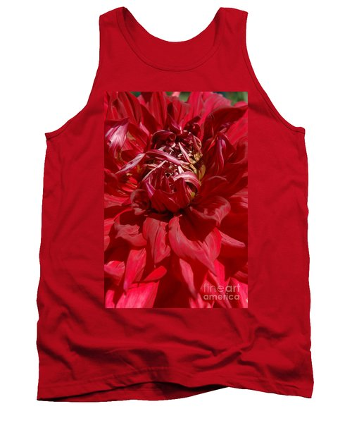 Tank Top featuring the photograph Dahlia Viiii by Christiane Hellner-OBrien