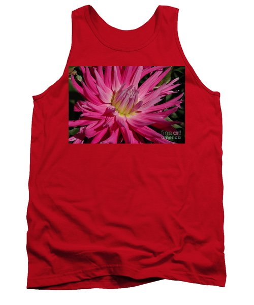 Tank Top featuring the photograph Dahlia X by Christiane Hellner-OBrien