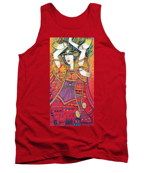 Dancer With Doves Tank Top