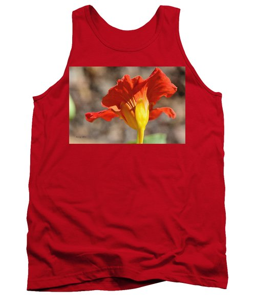 Tank Top featuring the photograph Day Time by Larry Bishop