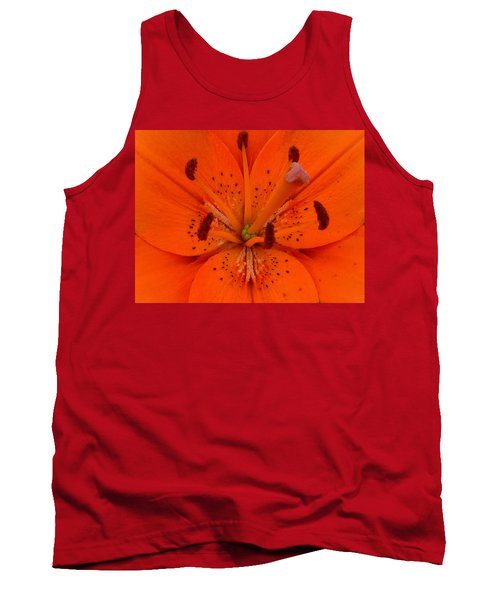 Daylily Heart Tank Top