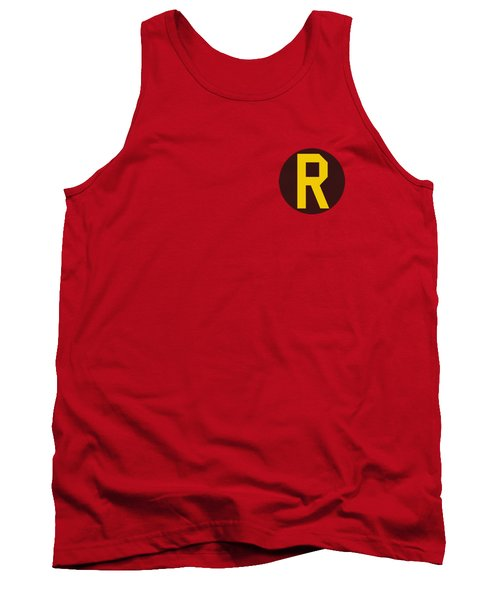 Dc - Robin Logo Tank Top by Brand A