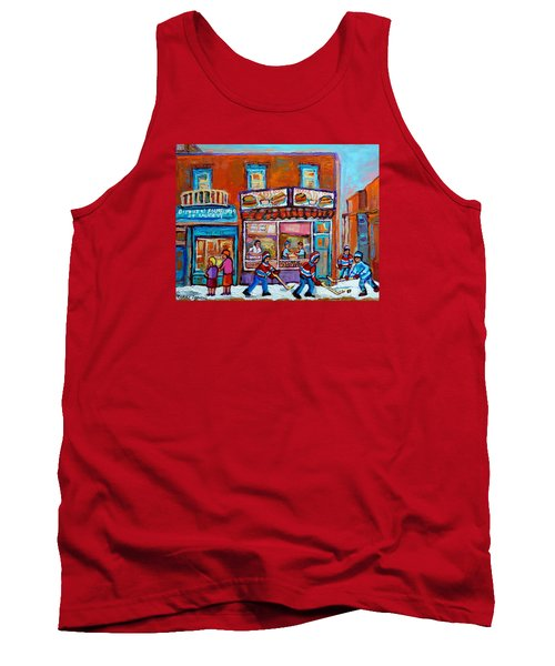 Decarie Hot Dog Restaurant Ville St. Laurent Montreal  Tank Top