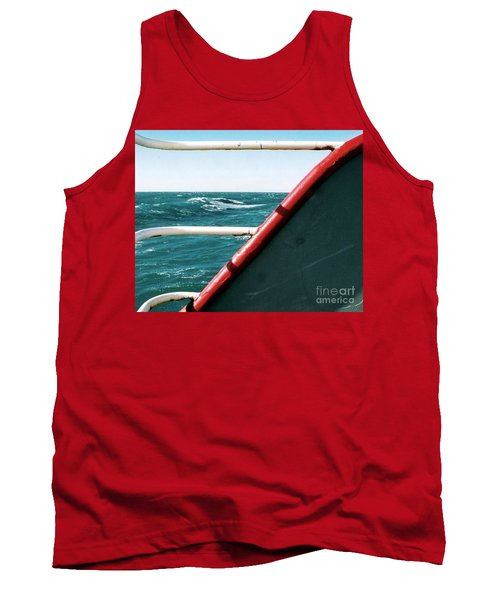 Tank Top featuring the photograph Deep Blue Sea Of The Gulf Of Mexico Off The Coast Of Louisiana Louisiana by Michael Hoard