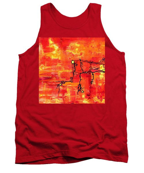 Dendritic Echoes Tank Top