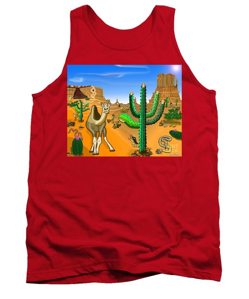 Desert Hands Tank Top