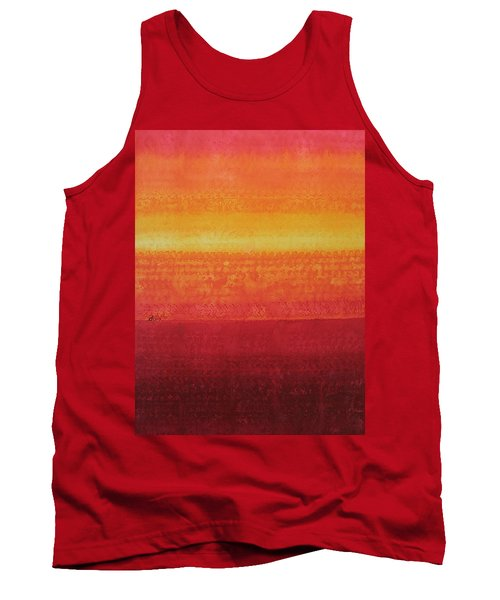 Desert Horizon Original Painting Tank Top