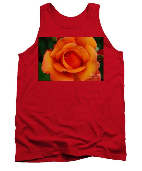 Tank Top featuring the photograph Detail In Orange by John S