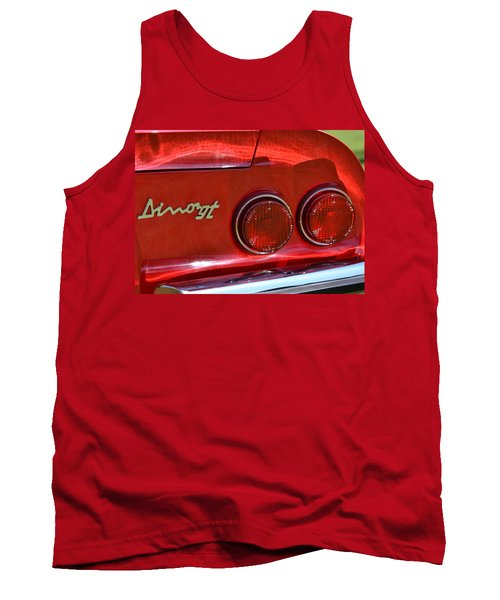Tank Top featuring the photograph Dino Gt by Dean Ferreira