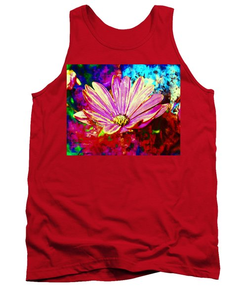 Tank Top featuring the painting Do It All Over Again by Joe Misrasi