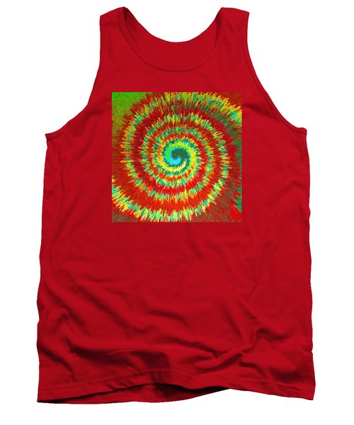 Double Spiral  C2014 Tank Top