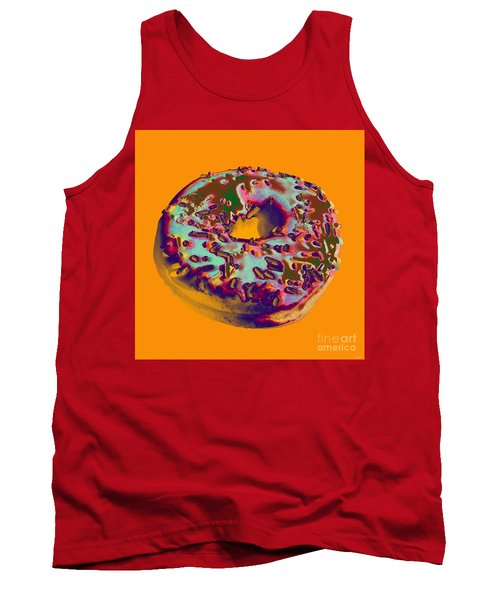 Doughnut Tank Top by Jean luc Comperat
