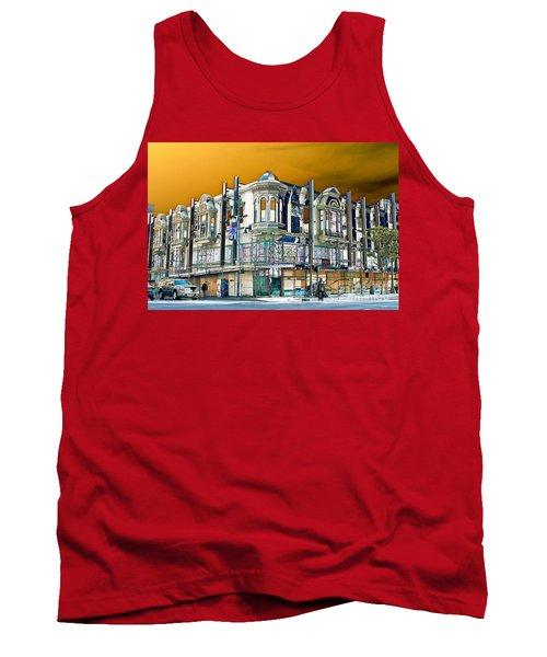 Downtown Los Angeles Corner Facade Tank Top