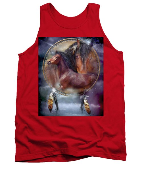 Dream Catcher - Spirit Horse Tank Top