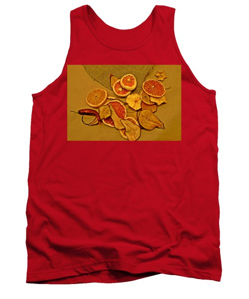 Dried Fruit Tank Top by Brian Chase