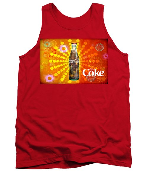 Drink Ice Cold Coke 4 Tank Top