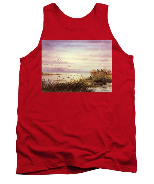 Duck Hunting Companions Tank Top by Bill Holkham
