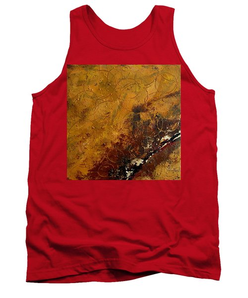 Earth Abstract Two Tank Top by Lance Headlee