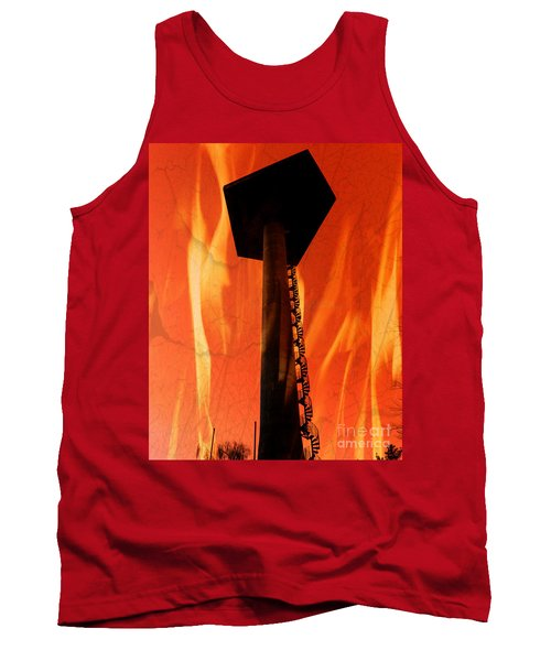 Tank Top featuring the photograph Elastic Concrete Part Two by Sir Josef - Social Critic - ART