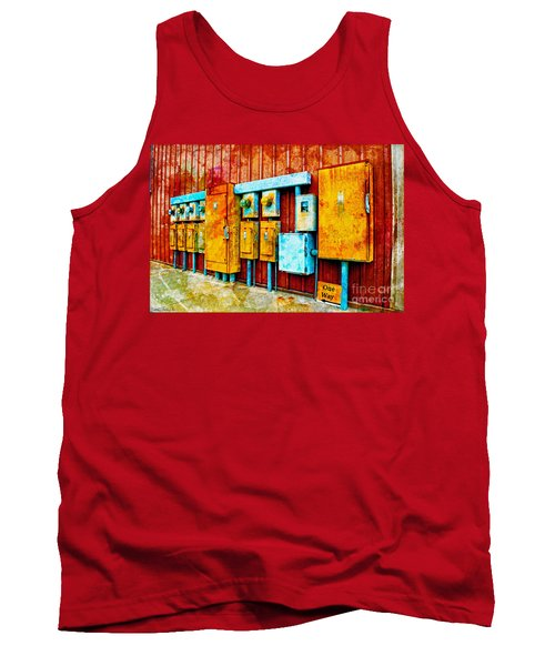 Electrical Boxes Iv Tank Top