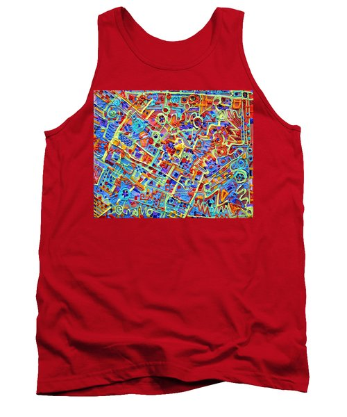 Electronics For Cats Tank Top