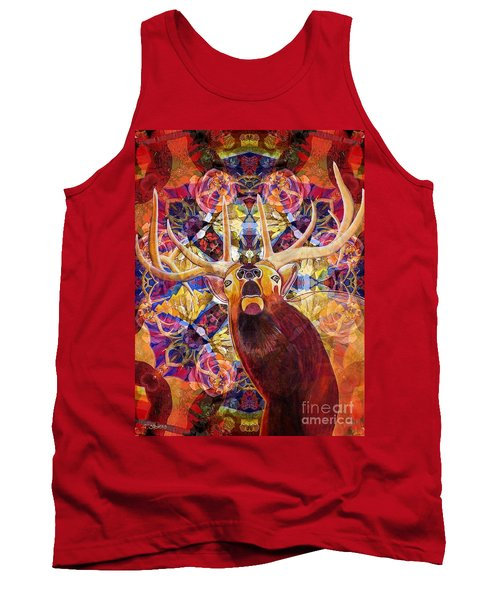 Elk Spirits In The Garden Tank Top
