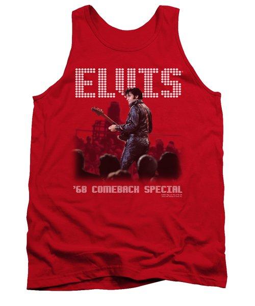 Elvis - Return Of The King Tank Top