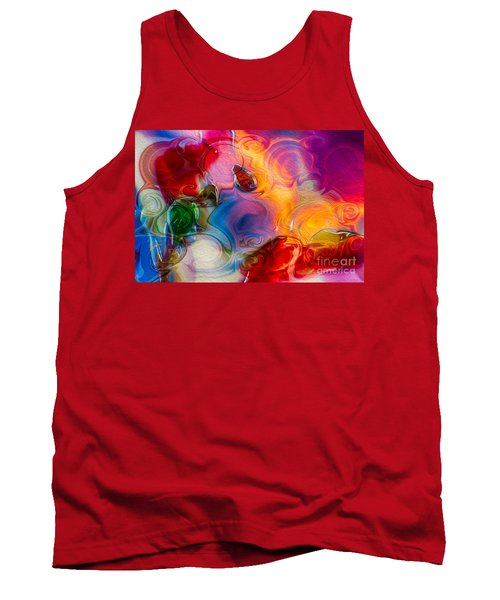 Enchanting Flames Tank Top