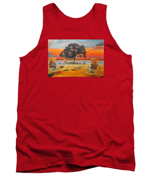 End Of Season Habits Listen With Music Of The Description Box Tank Top