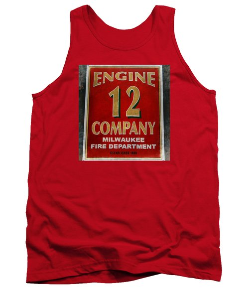 Engine 12 Tank Top