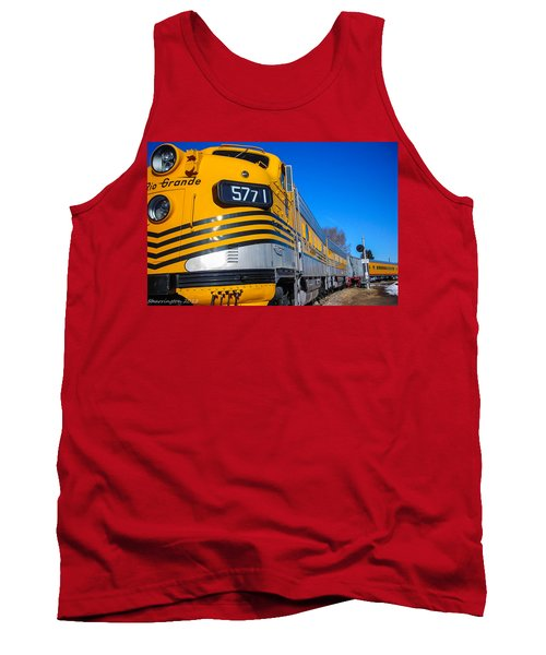 Tank Top featuring the photograph Engine 5771 by Shannon Harrington