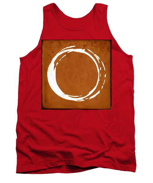 Enso No. 107 Orange Tank Top