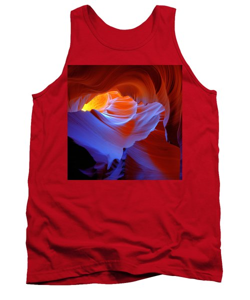 Tank Top featuring the photograph Evanescent Light by Dustin  LeFevre