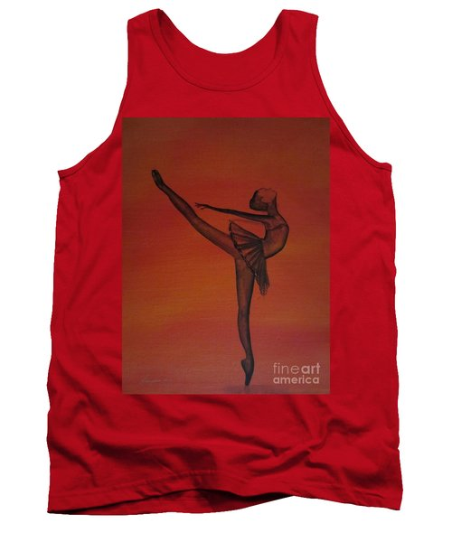 Fall Dancer 1 Tank Top by Laurianna Taylor