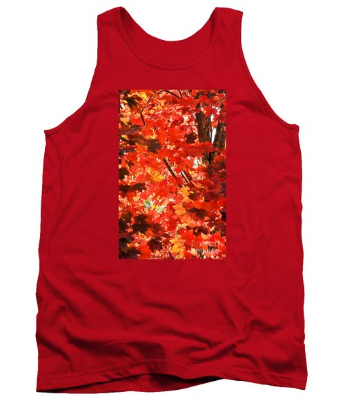 Tank Top featuring the photograph Fall by David Perry Lawrence
