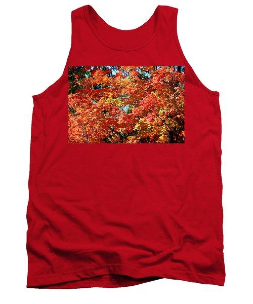 Fall Foliage Colors 22 Tank Top