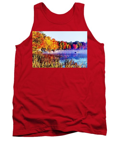 Tank Top featuring the photograph Fall Splendor Of Mid-michigan by Daniel Thompson