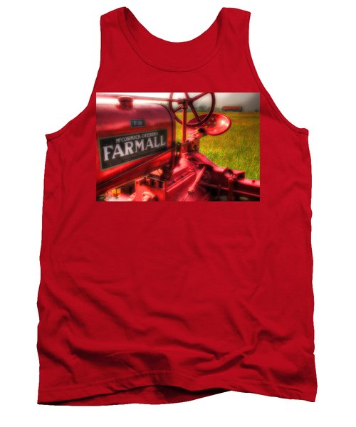 Farmall Morning Tank Top by Michael Eingle