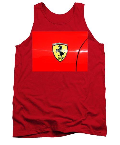 Ferrari Logo Tank Top