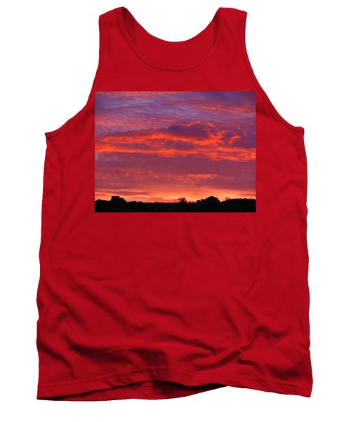Fire In The Arizona Sky Tank Top