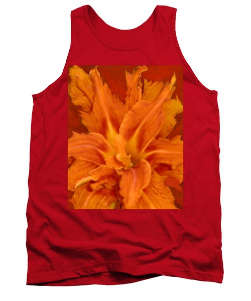 Fire Lily Tank Top