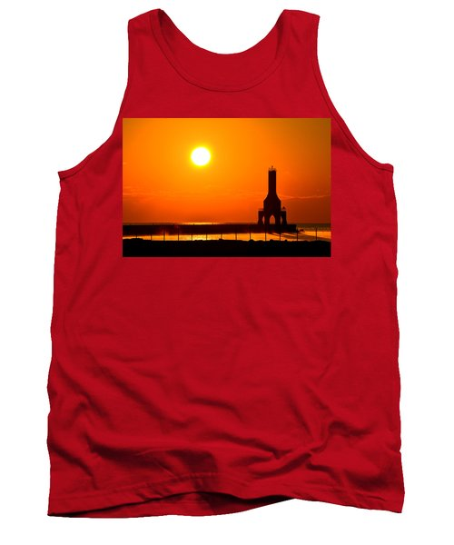 Fire Sky Tank Top by James  Meyer