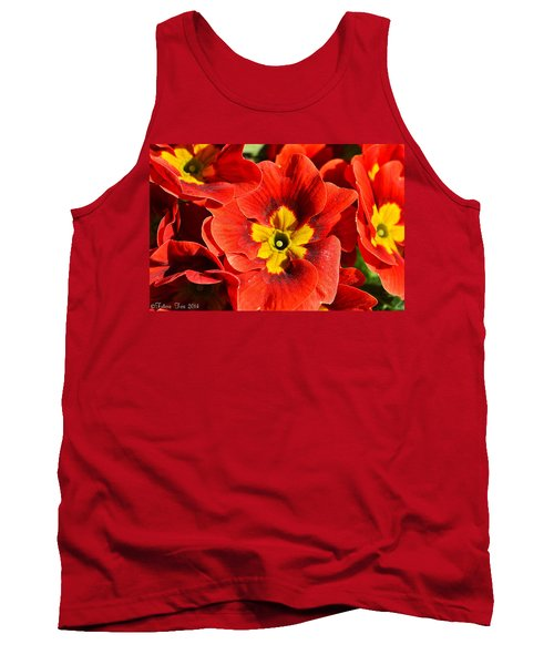 Flamenco Look Tank Top